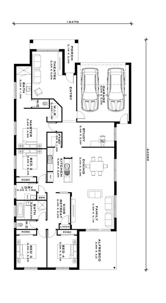 Barwon 28 - floorplan