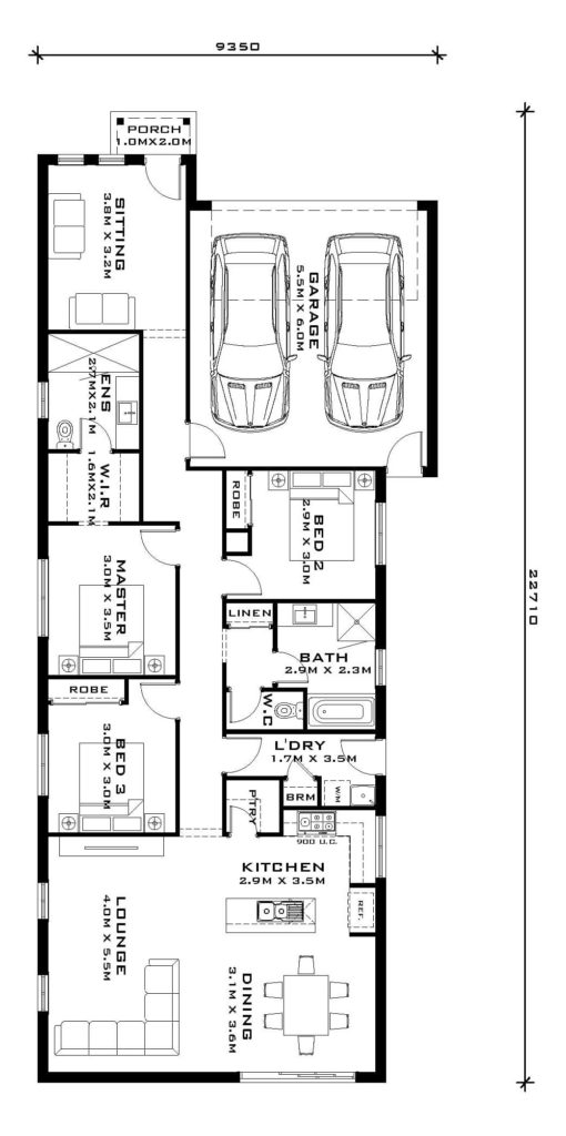 Flinders 20 - floorplan