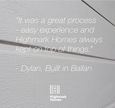 It's always a pleasure to see our Highmark Homes customers so happy. Follow us on Instagram and Facebook to see more of our customer testimonials.
