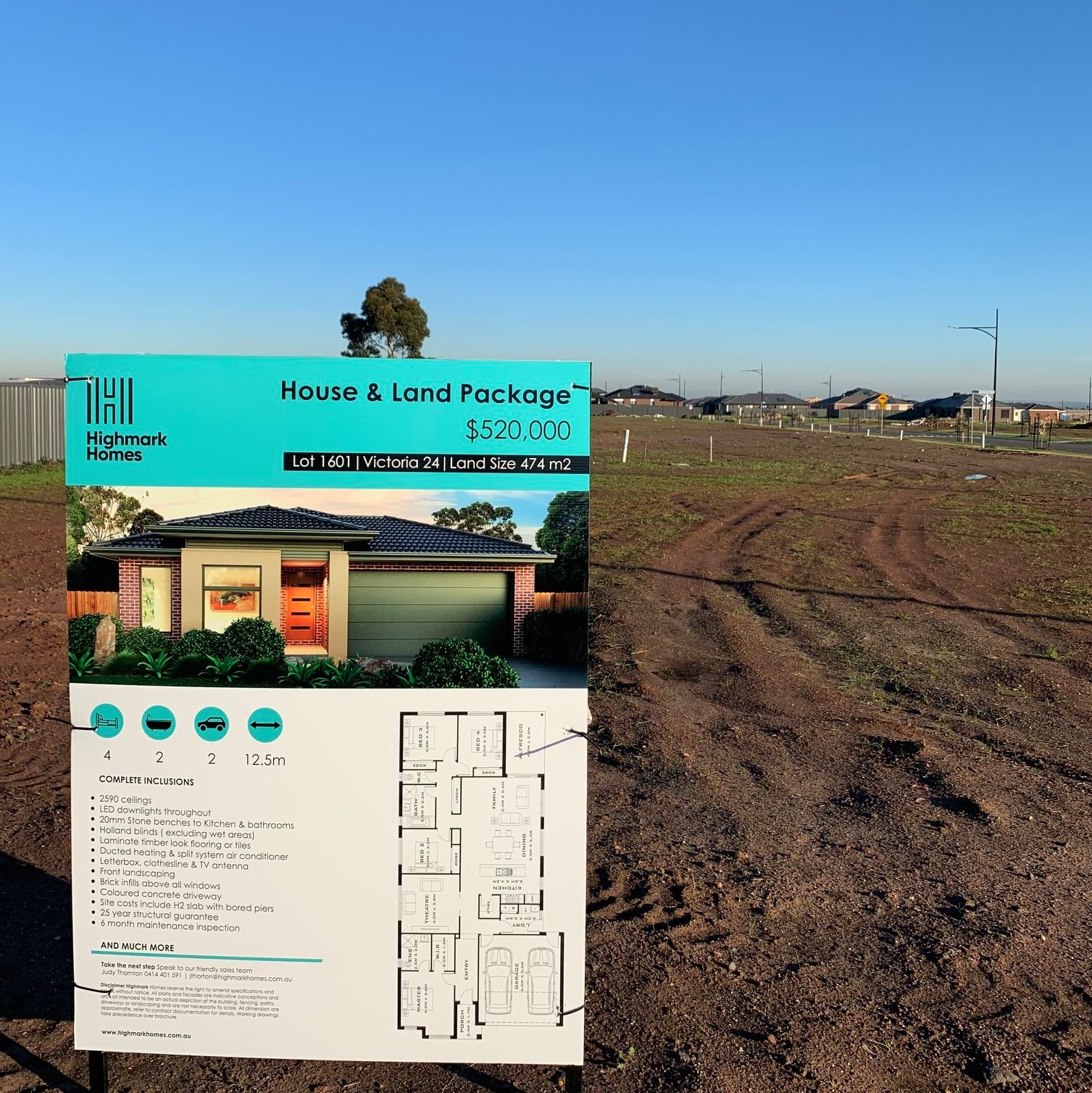 Blue winter skies over one of our Lots at Willandra Estate now selling! Get in quick with just 6 Lots remaining - to speak to our Sales Team, contact Judy Thornton on 0414 401 591 and find out more about opportunities in Willandra.